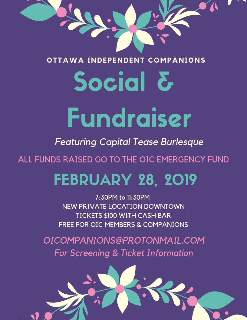 Ottawa Independent Companions Social
