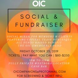Ottawa Escorts - OIC Social & Fundrasier